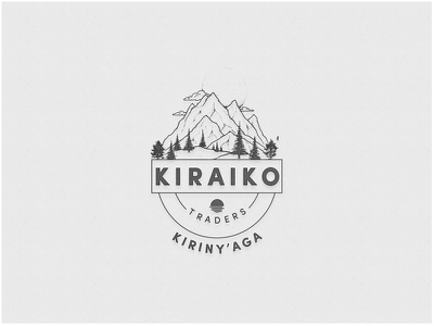 Kiraiko Badge freebie badge drawing city logo modern font icon marketing inspiration identity logos branding lettering minimal logo minimalist design