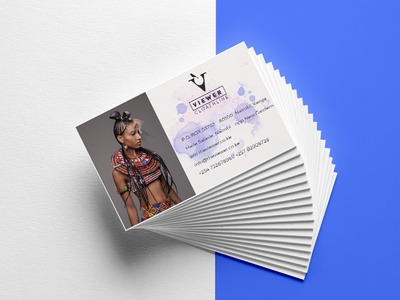 The viewer clothing Business cards