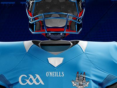 International Rules branding sports uniform design ireland usa football dublin gaa american football