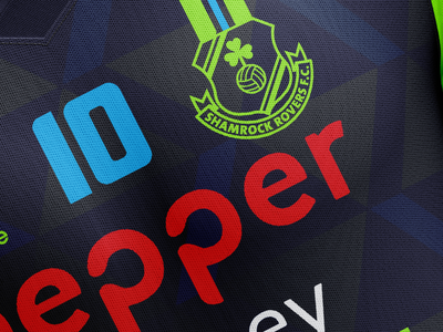 Rovers Away teamkit sorts apparel graphic photoshop textile sports design
