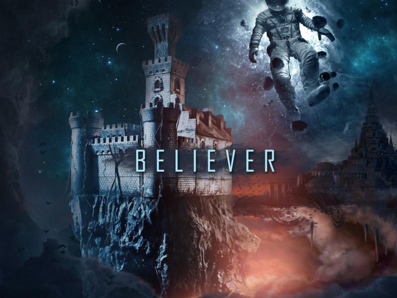 Lucas Chade -  Believer dj flyer musicproduction dj djbranding
