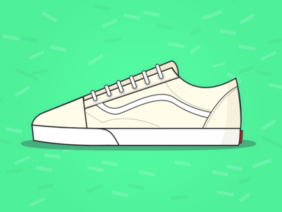 Vans Old Skool illustration