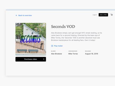 BladingVODs · Digital marketplace