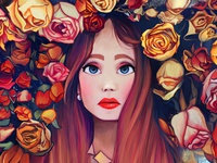 Flowers in your hair #1
