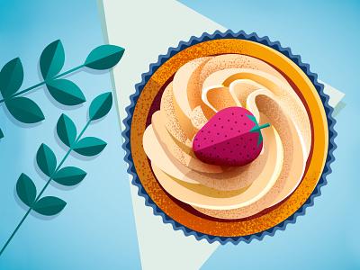 Theatre illustration detail #3 adobe cook flat graphic design plate icon illustration illustrator food photoshop cake vector