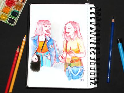 Traditional Sketchbook | 01b