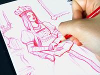 Traditional Sketchbook | 03
