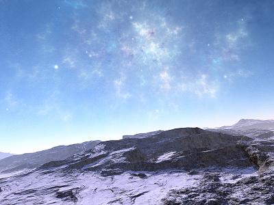 Placidity rocks nebula stars planets procedural fractal celestial exoplanet fantasyart fantasy scifiart scifi spaceart space 3dart digitalart spacescape apophysis mojoworld