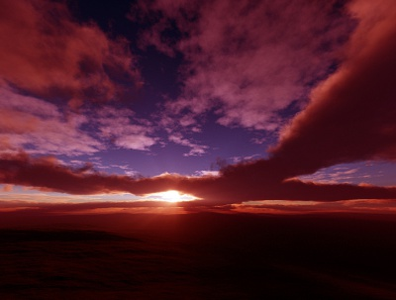Transcendent Sequences II clouds sunrays sunset sunrise isosurface volumetrics procedural fractal celestial exoplanet fantasyart fantasy scifiart scifi spaceart space 3dart digitalart spacescape mojoworld