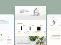 Tech Fragrant Website Template