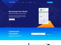Block-chain Exchange Website Template