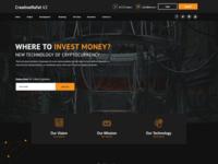 Creativerafat V2 - Blockchain website