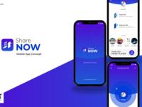 ShareNOW iOS app design