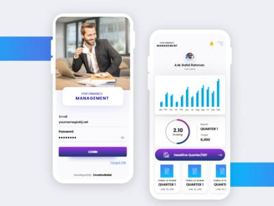 KPI app design