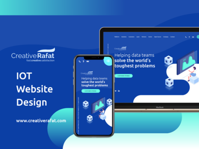 IOT website design