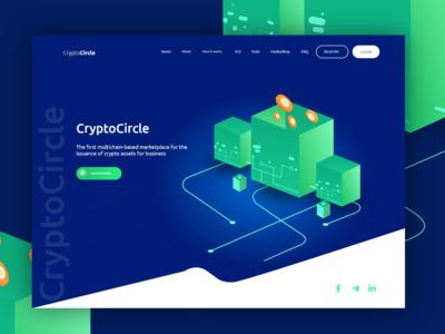 Crypto Website Project | Crypto Circle | 2020