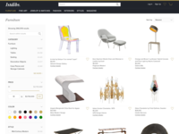 1stdibs Search & Browse Redesign