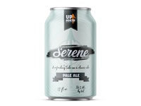 Serene Beer Label Design