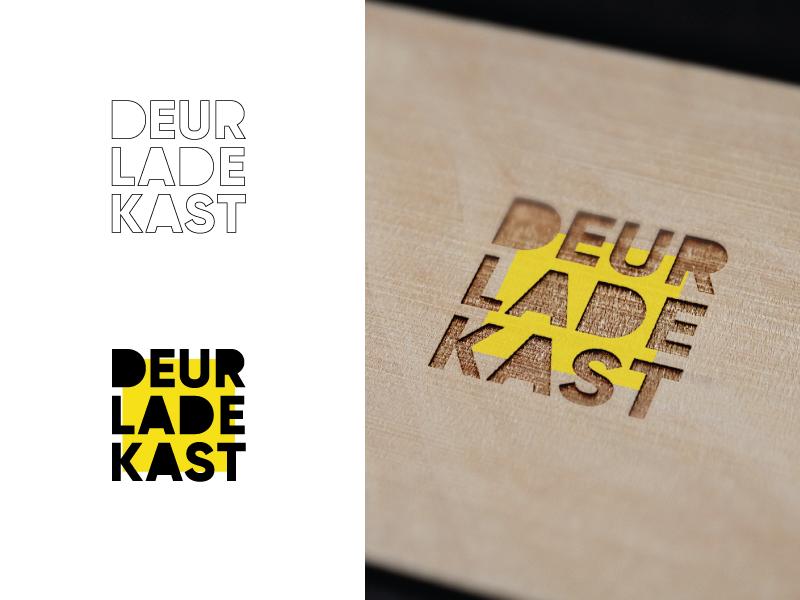 Lade In Kast.Logo Deur Lade Kast By Strak On Dribbble