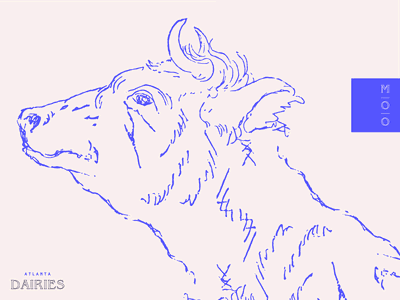 mooooooooooooooooo blue layout pattern design logo typography type branding brand dairy cow moo