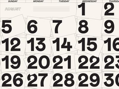 Calendar wip