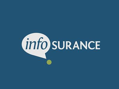 InfoSurance logo branding brand-by-joshua