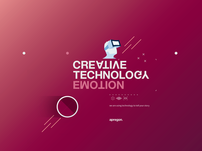 Apregon - branding elements illustration typography branding brand-by-joshua