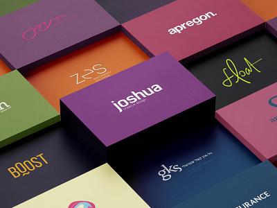 our brands typography design logo designer logotype logo design brand design brand design typography logo branding brand-by-joshua