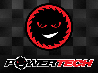 Powertech Logo Design Dribble design logo