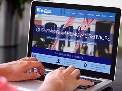 Go-Gum Website Design design website responsive