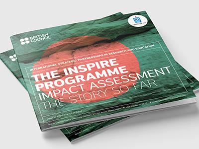 British Council Brochure Design report design booklet design brochure design graphic design