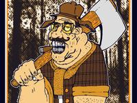 Looney Woodchopper