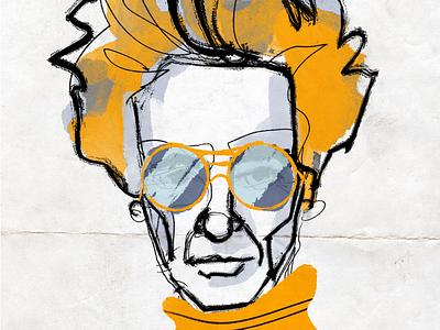 Retro Portrait sketch