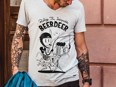 Deerbeer Shirt Design