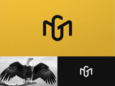 MG monogram logodesigner lines esense abstract creative minimal monogram simple symbol mark logo