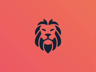 Lion concept colors illustration abstract creative simple logodesign lion head minimal symbol mark logos logo lion logo lion