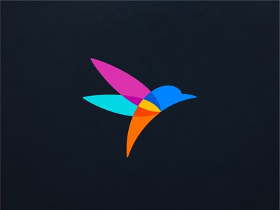 Rolio Pigments colorful logodesigner logomark bird logo bird esense colors abstract creative minimal simple logotype symbol mark logo