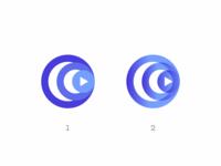 Logo for a music app