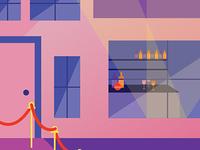 In-home Bar Illustration