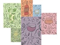 October Horoscope Doodles