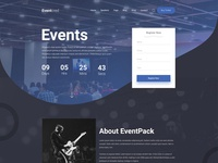 Eventcred - A Creative Event PSD Template