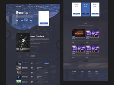 Creative Event & Conference HTML Template [Download Now]
