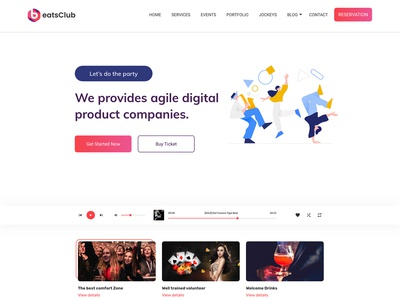 Nightlife & NightClub Template