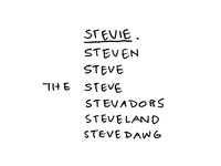 Names on Names on Names
