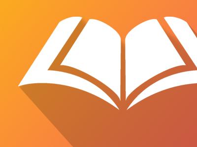 Books2Go - Logo shadow design material icon app logo books book