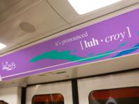 It's pronounced luh-croy. A concept for LaCroix Sparkling Water