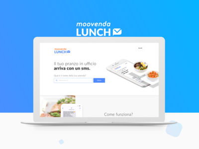 Lunch delivery service: UX & UI Design