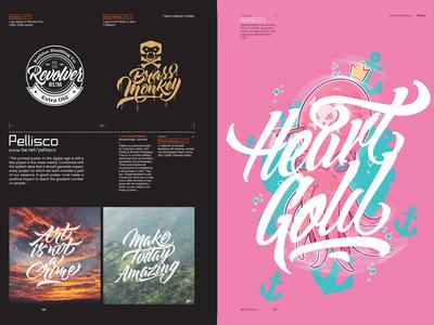 IdN v23n3: Type & Lettering in Posters color design brand logo branding illustration typography lettering art posters poster magazine