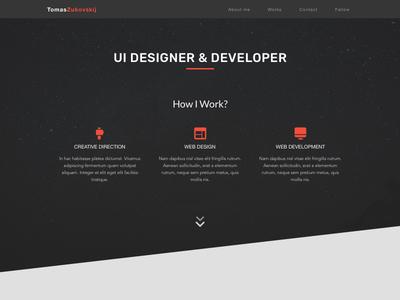 Own portfolio design