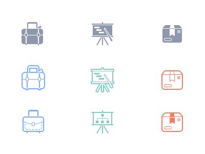 Alternative simple icons